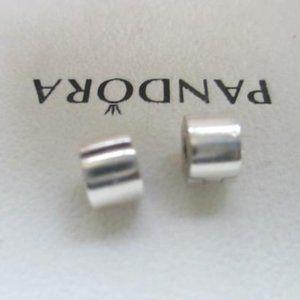 Pandora set lot 2 Plain Smooth Clip Charm 790138